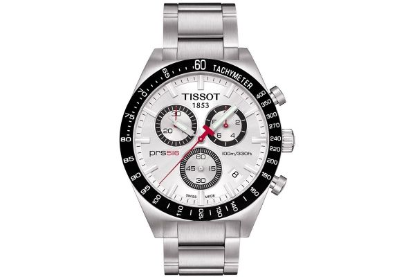 Mens Tissot PRS516 Chronograph Watch T044.417.21.031.00