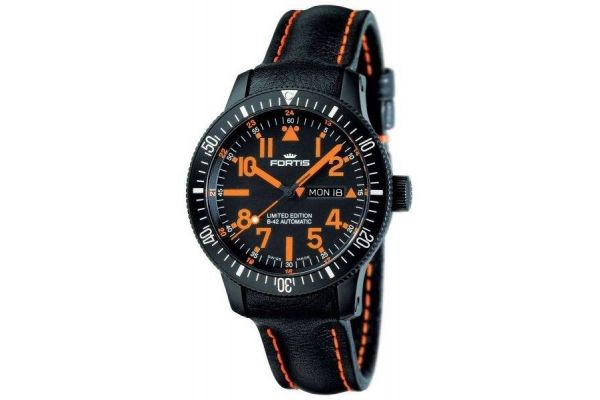 Mens Fortis Mars 500 Watch 647.28.13 L13