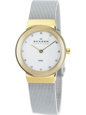 Womens Skagen Freja crystal set milanese strap 358SGSCD Watch