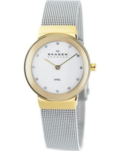 Womens Skagen Freja crystal set milanese strap 358SGSCD Watch