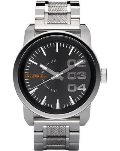 Mens Diesel Double Down large stainless steel DZ1370 Watch