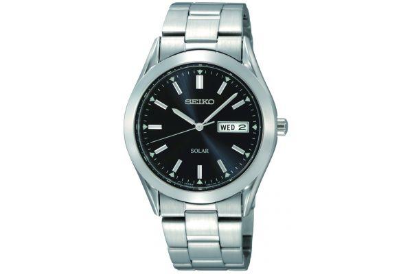 Mens Seiko Solar Watch SNE039P1
