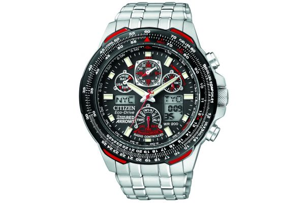 Mens Citizen Red Arrows Watch JY0100-59E