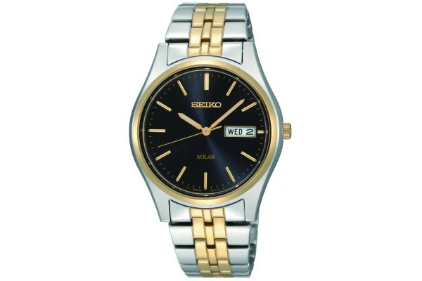 Mens Seiko Solar Watch SNE034P1
