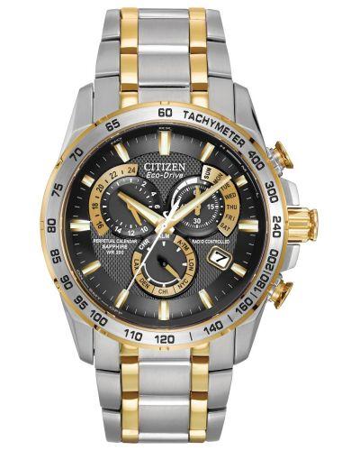 Mens Citizen Perpetual Calendar Perpetual Chrono A.T. AT4004-52E Watch