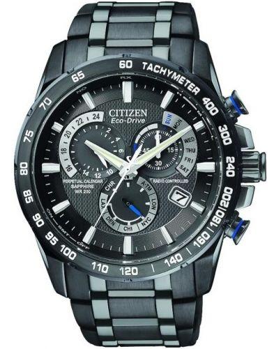 Mens Citizen Perpetual Calendar Perpetual Chrono A.T. AT4007-54E Watch
