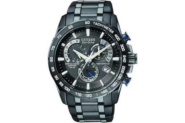 Mens Citizen Perpetual Calendar Watch AT4007-54E