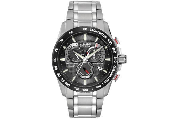 Mens Citizen Perpetual Calendar Watch AT4008-51E
