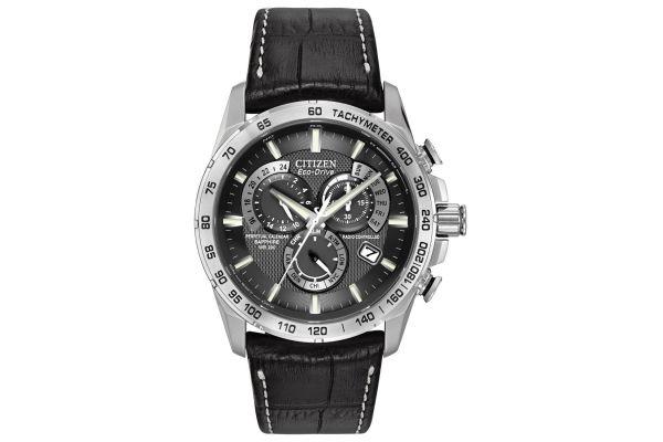 Mens Citizen Perpetual Calendar Watch AT4000-02E
