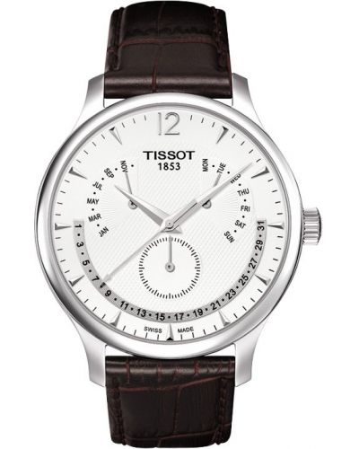 Mens Tissot Tradition Retrograde Date T063.637.16.037.00 Watch