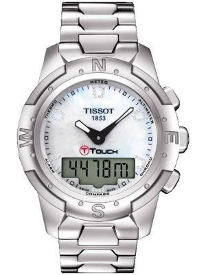 Womens Tissot T Touch Ladies Diamond T047.220.44.116.00 Watch