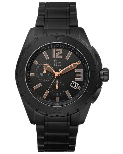 Mens GC Sports Class XXL BLACKOUT X76009G2S Watch