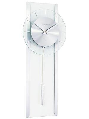 Contemporary glass pendulum wall clock | 23103