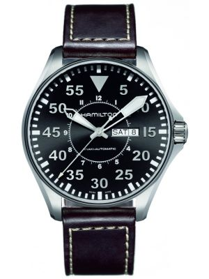 Mens Hamilton Khaki Aviation Pilot H64715535 Watch