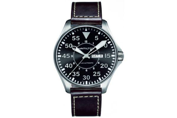 Mens Hamilton Khaki Aviation Watch H64715535