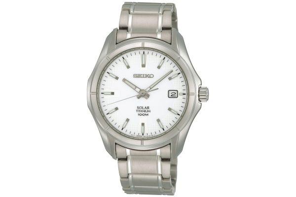 Mens Seiko Solar Watch SNE139P1