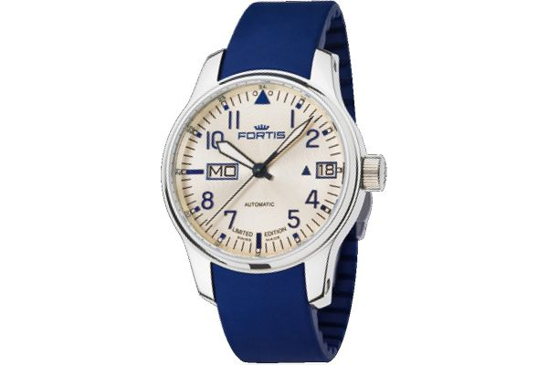 Mens Fortis F-43 Flieger Watch 700.20.92 Si05