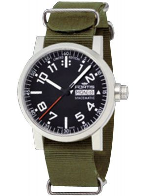 Unisex Fortis Spacematic Day/Date 623.11.41 N11 Watch