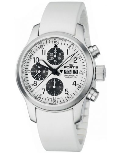 Mens Fortis B-42 Flieger Chronograph 635.10.72 Si02 Watch