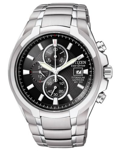 Mens Citizen Gents Titanium Chronograph CA0260-52E Watch