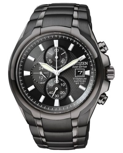 Mens Citizen Gents Titanium Chronograph CA0265-59E Watch