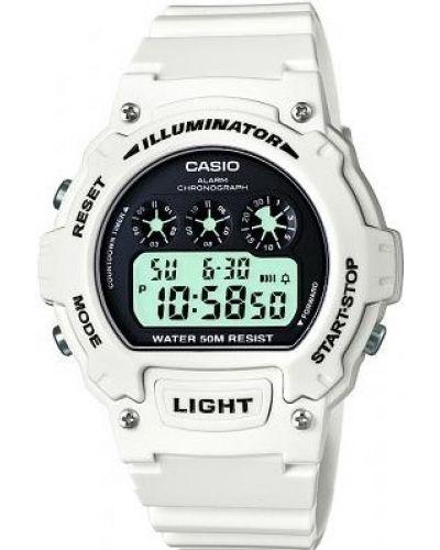 Unisex Casio Classic White digital W-214HC-7AVEF Watch
