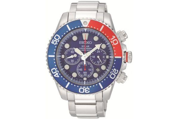 Mens Seiko Solar Watch SSC019p1