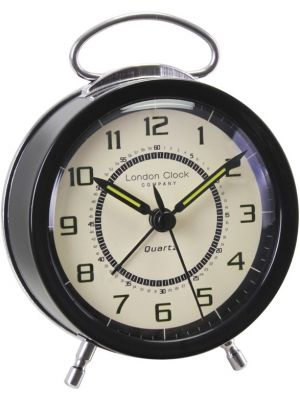 Retro Twin Bell Metal Alarm Clock | 32532