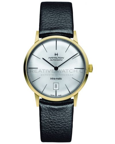 Mens Hamilton Timeless Classic Intra-Matic H38475751 Watch