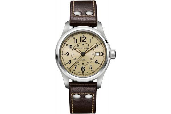 Mens Hamilton Khaki Field Watch H70595523