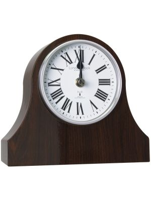 Classic Napoleon Dark Wood Radio Controlled Wall Clock | 06341