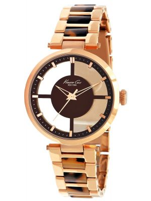 Womens Kenneth Cole Transparent rose gold plated KC4766 Watch