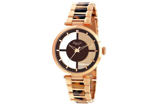 Womens Kenneth Cole Transparent Watch KC4766
