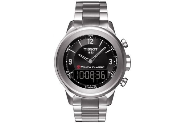 Mens Tissot T Touch Watch T083.420.11.057.00