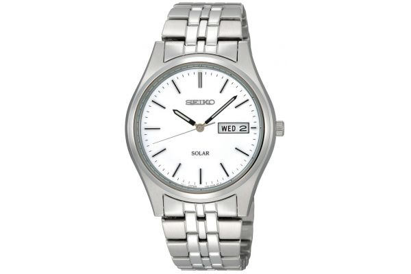 Mens Seiko Solar Watch SNE031P1