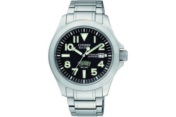 Mens Citizen Royal Marine Commando Watch BN0110-57E