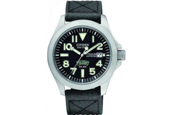 Mens Citizen Royal Marine Commando Watch BN0110-06E