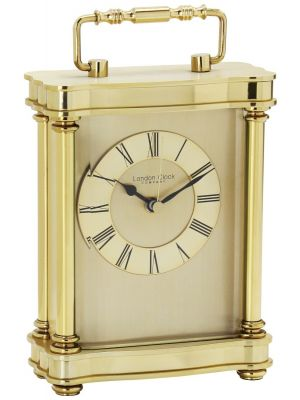 Gold finish carriage clock | 03067