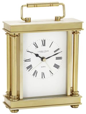 Gold finish carriage clock | 03070