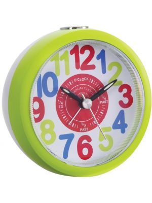 Bright Green tell the Time Kids Alarm | 32538