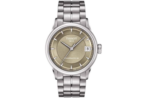 Womens Tissot Powermatic 80 Watch T086.207.11.301.00