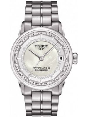 Womens Tissot Powermatic 80 Chronometer Luxury Automatic T086.208.11.116.00 Watch