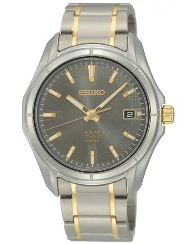 Mens Seiko Solar SNE143P1 Watch