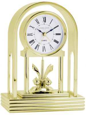 Gold Anniversary Clock with Roman Numeral Dial | 03109