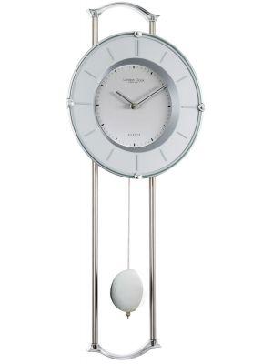 Chrome pendulum wall clock | 23147