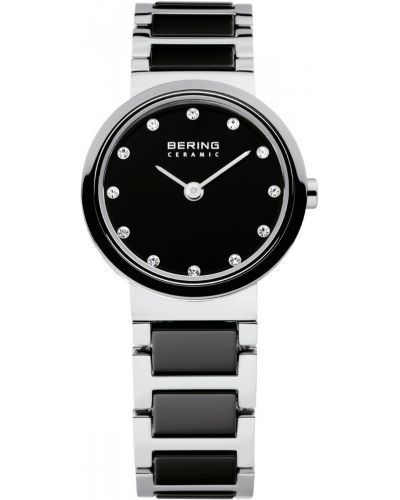 Womens Bering Ceramic black crystal set 10725-742 Watch