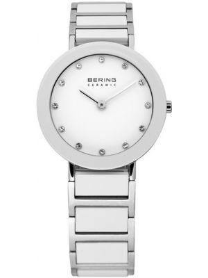 Bering Ceramic white stainless steel crystal set 11429-754 Watch