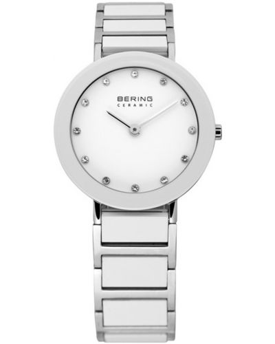 Womens Bering Ceramic white stainless steel crystal set 11429-754 Watch