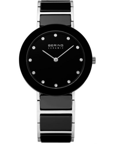 Womens Bering Ceramic crystal set black 11435-749 Watch
