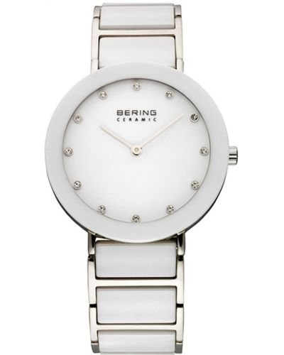 Womens Bering Ceramic crystal set stainless steel 11435-754 Watch
